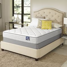 Experience the benefits of sleeping on a plush pillowtop mattress set with GEL memory foam at an affordable price. The Serta Amazement Euro top mattress set will be delivered through Serta's Platinum In-Home Delivery Service. Comfort and Convenience. Full Mattress Set, King Size Bed Mattress, Old Mattress, Queen Mattress, Queen Size Bedding, California King Mattress, Thing 1, Furniture Outlet, Online Furniture