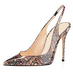 EDEFS - Escarpins Femme - Sexy Talon Aiguille - Bride Arrière Chaussures -  Bout Fermé  Amazon.fr  Chaussures et Sacs a5a60f7e9536