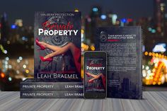 Private Property print cover by Leah Braemel