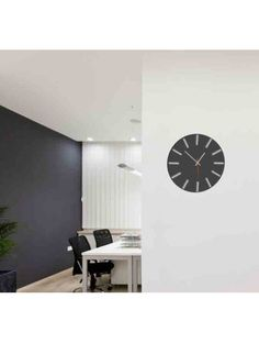 Wall clock - FARON, color: gray, light gray Reference:  X0002 - RAL7016-RAL7035 Condition:  New product  Availability:  In Stock  Time to change! Decorating watches will revive every interior, highlight the charm and style of your space. Discover your living with new clocks. Plexiglass wall clocks are a wonderful decoration of your interior.