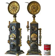 """Jules Verne Type II Clock"" Steampunk DIY Project Ideas Project Difficulty: Simple MaritimeVintage.com"