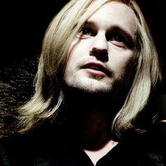Eric Northman of True Blood, with long hair...  I really just love men with hair.