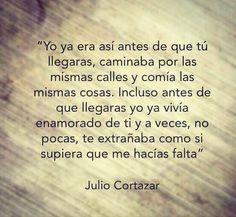 Julio Cortázar...