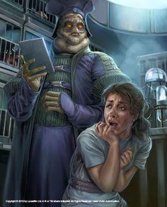 Clone Wars - Gambit: Stealth scene by Chris Trevas