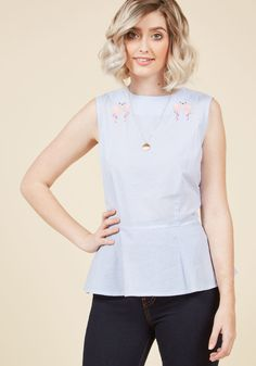 Banned Flock Solid Sleeveless Top in XS, #ModCloth