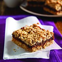 Oat-Date Bars by SPLENDA® Uses brown sugar blend (not too much) and 8 oz. dates. TO USE DATES! BAKE AND FREEZE FOR LATER!