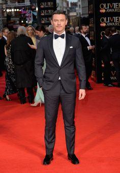 Luke Evans Photos - The Olivier Awards with Mastercard - Red Carpet Arrivals - Zimbio
