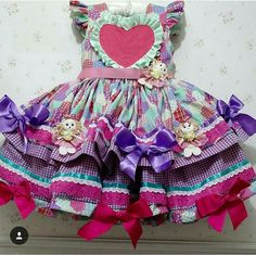 Every little girl's nightmare is to be dressed in a dress like this. Even we princess-types would balk at something this ornate and full of gew-gaws! Faerie Costume, Country Dresses, Learn To Dance, Festival Dress, Big Kids, American Girl, Tutu, Cute Babies, Doll Clothes