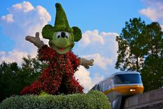 EPCOT - Magical Monorail by Matt Pasant, via Flickr