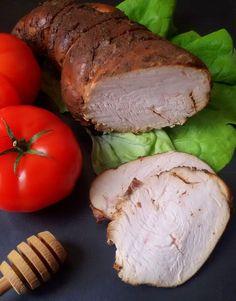 Domowa szynka z indyka - Całkiem Zdrowo Camembert Cheese, Pork, Dairy, Meat, Healthy, Kale Stir Fry, Beef, Pork Chops