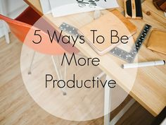 Do you struggle with productivity? Check out my tips for being productive and getting things done!