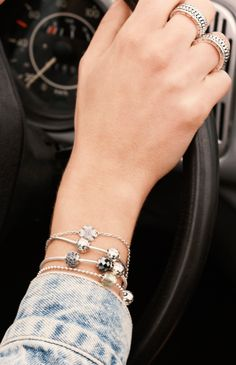 Express your joyful and optimistic personality with charms from the PANDORA ESSENCE COLLECTION. #PANDORAmagazine