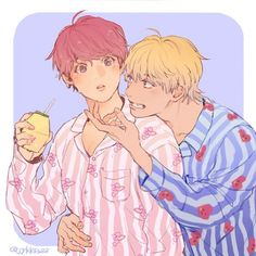 In which Taehyung abandoned Jungkook and his child. Next four years he met Jungkook again. Vkook Fanart, Fanart Bts, Jungkook Fanart, Bts Chibi, Taekook, Taehyung, Namjin, Yoonmin, Bts Drawings