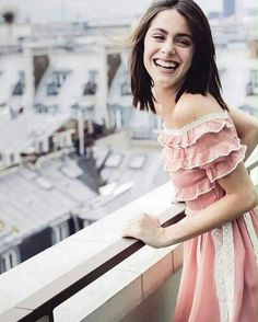@ redvalentino - Stunning shines with a dazzling smile in PreCollection look for france - regram via Gala Magazine, Violetta Outfits, Martini, Celebrity Singers, Latin Women, Wattpad, Chloe Grace Moretz, Fashion Tv, Elle Fanning