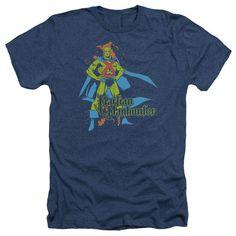 Martian Manhunter: Martian Manhunter Heather T-Shirt
