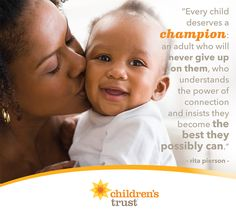 Every child deserves a champion, and every parent can build and strengthen themselves to be that champion for their children.