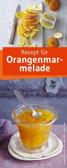 Nichts schmeckt besser und ist gesünder als selbstgemachte Marmelade! Probiert unser Rezept für diese vegane Orangenmarmelade!