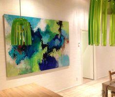 Blog om malerier, kunst og livets gang i atelieret, krydret med lidt af hvert fra dagligdagen