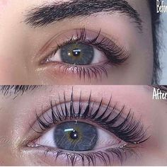 Before or After ? . . I got eyelash extensions done today and they're already starting to fall off smh #EyeLashesNatural Eyelash Extensions Aftercare, Eyelash Extensions Styles, Natural Looking Eyelash Extensions, Eyelash Lift, Eyelash Sets, Eyelash Tinting, Eyelash Growth, Eyelash Glue, Too Faced