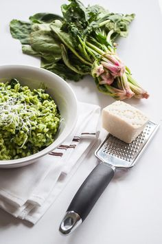 Spinach Risotto Recipe-Yummy and Healthy Spinach Recipes