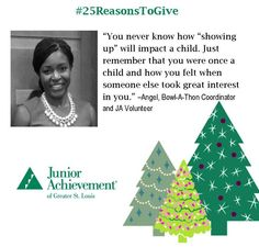 Reason #12: Small moments, like the ones that happen when teaching #JA in the classroom, can have a huge #impact!  #25ReasonsToGive
