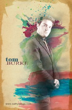 Tom Burke graphic by me (cathelms) Tom Burke Cormoran Strike, Musketeers, Movies And Tv Shows, Bbc, Toms, Fandoms, Smile, Watercolor, Heart