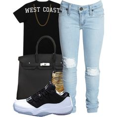 @brezlyn deshone....We$t Coa$t, created by mindlesspolyvore on Polyvore