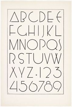 Irene K. Ames, A portfolio of Alphabet Designs for artists,...