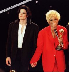 Michael Jackson and Diana Ross | World Music Awards in 1996