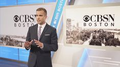 This perfectly tailored suit looks great on CBSN, the new local streaming service in Boston. Classic Suit, News Anchor, Great Hairstyles, In Boston, New Media, Bold Colors, Looks Great, Coaching, Suits