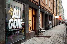 Sneakersnstuff Stockholm - All Gone book release