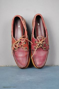 Topman Navy Leather Boat Shoes | things | Pinterest | Leather boat ...