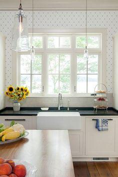 Unique Decor Ideas: Functional Kitchen Wallpaper Ideas