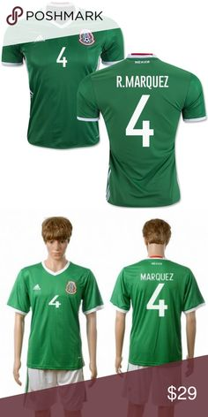 bb10b3d2475 Mexico Adidas Soccer Jersey Rafa Marquez Adult L The jersey has been worn a  few times