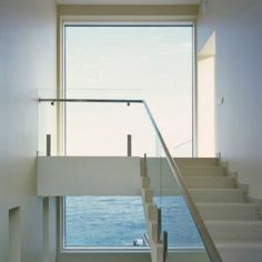It's Monday morning and we're daydreaming about this home with uninterrupted views of the horizon over the sea #amazingarchitecture  http://leibal.com/architecture/yacht-house-2/