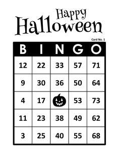 Halloween Bingo Cards, 1000 cards, 1 per page, immediate pdf download Bingo Cards To Print, Custom Bingo Cards, Halloween Bingo Cards, Bingo Calls, Bingo Patterns, Email Programs, I Am Game, Print And Cut, Paper Size