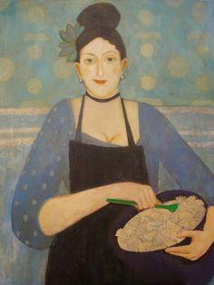 Elisabeth Jonkers, French, b. 1966, Holland-based