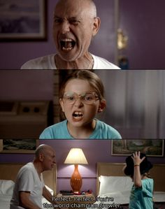 Little Miss Sunshine - Alan Arkin is great in this.
