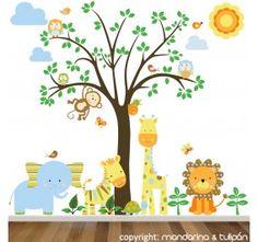 SELVA AVENTURA 001 - Vinilos Infantiles Selva