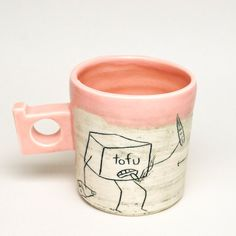 Cup ceramic vessel #mug #cup of tea mug It' s only a storm in a teacup pottery artist Adams Puryear