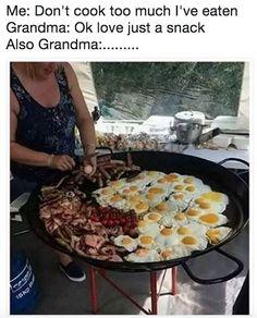 The grandma who is universally the same:
