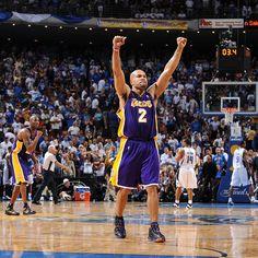Derek Fisher.  Los Angles Lakers' hero.