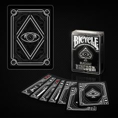 Blackout Kingdom Bicycle Playing Cards