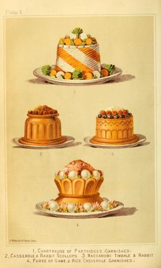 Typical of Game Pies served during the Regency years.    From:  Cassell's Dictionary of Cookery (1892) archive.org