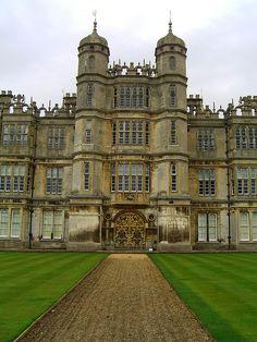 U.K. Burghley House, Lincolnshire, England. Elizabethan period, early renaissance.