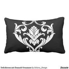 Dekokissen Mit Damask Ornament