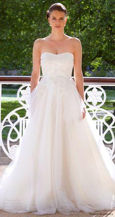 margo stankova bridal 2017 strapless sweetheart ball gown wedding dress (05) mv