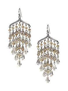 Banana Rep. Sunshine chandelier earring