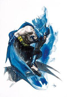 comicblah:  Batman by Gabriele Dell'Otto