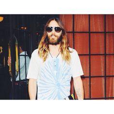 Jared Leto (Dolce  Gabbana sunglasses)